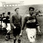 Spartak Moscow players after a hard game in the 1930s.